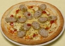 ハーブソーセージピザ