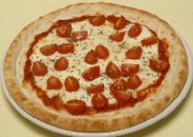 ミニトマトモッツァレラピザ
