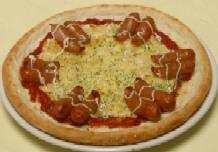 ポークソーセージピザ