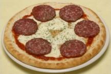 でかサラミモッツァレラピザ